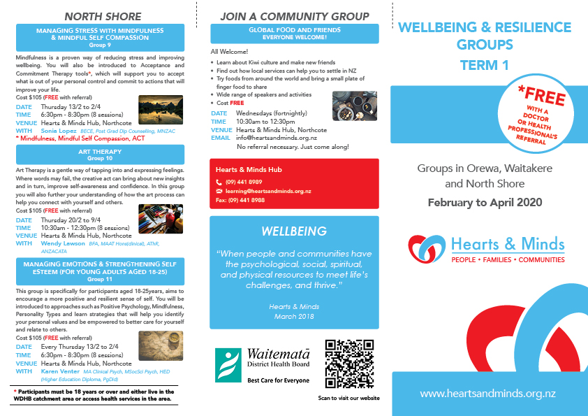 Wellbeing Group Brochure