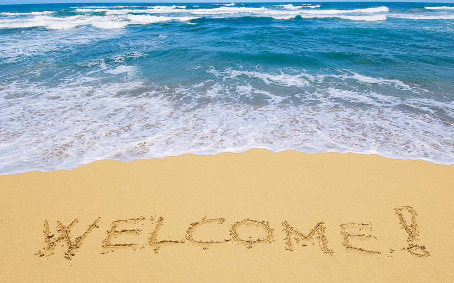Welcome beach